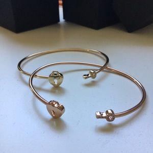 Lock and Key Cuff Bracelet